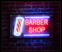 Barber Shop Neon Sign 2